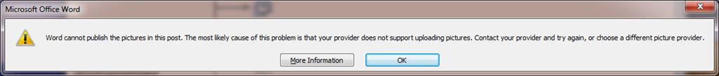 Microsoft Word Error